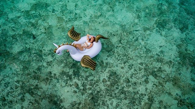 Einhorn Schwimmtiere sind echte Hingucker!