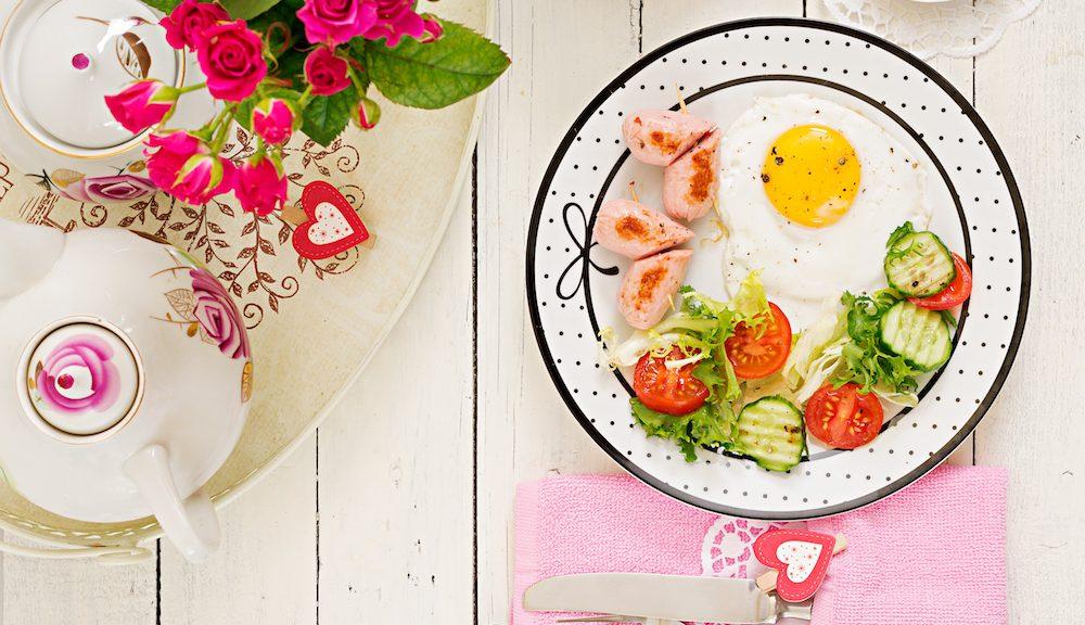 Alles für ein perfektes Einhorn Frühstück